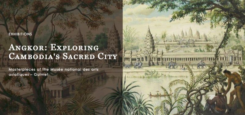 Happening Now: Angkor, The Exhibition