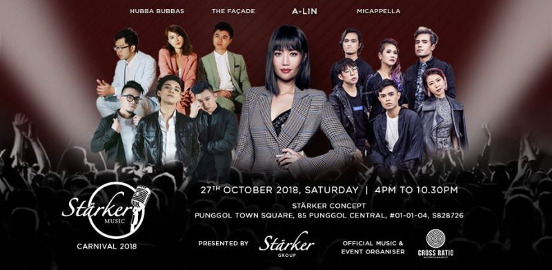 Catch Taiwanese Pop Diva, A-Lin back in Singapore as part of Stärker Music Carnival this October