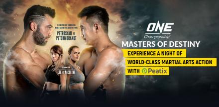 Win tickets to One Championship Masters of Destiny, Kuala Lumpur (12 Jul)