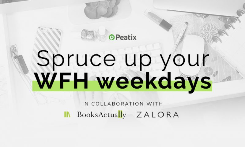 Spruce up your WFH days Books Actually and ZALORA!