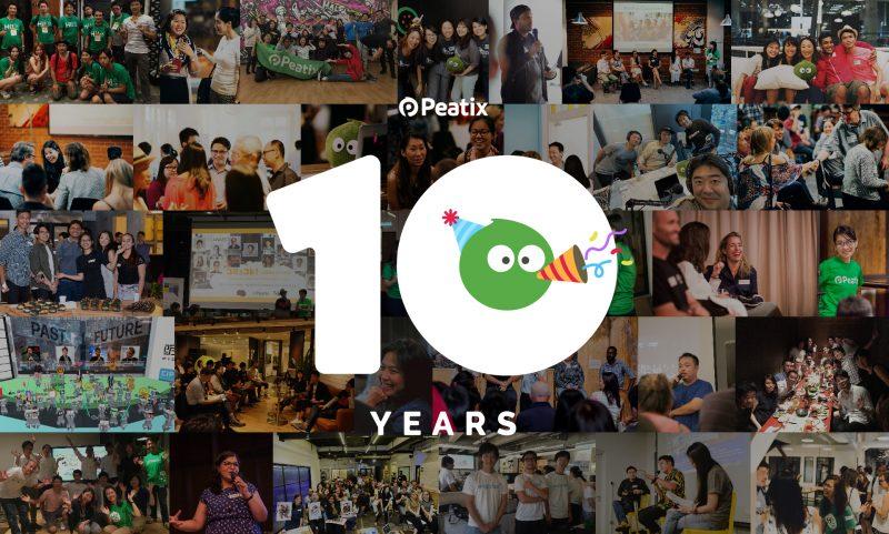 Peatix is 10!