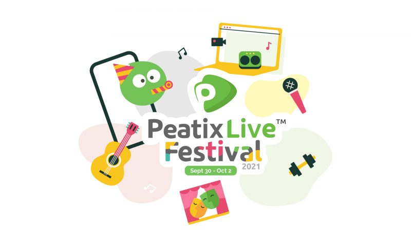 Don't miss the Peatix Live Festival | 30 Sep -2 Oct 2021