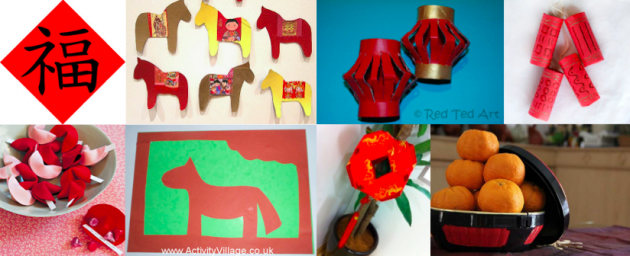 Go Green: 8 DIY Chinese New Year event decorations