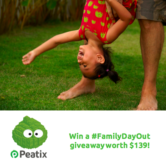 [GIVEAWAY] Win a fabulous #FamilyDayOut package worth up to $139!