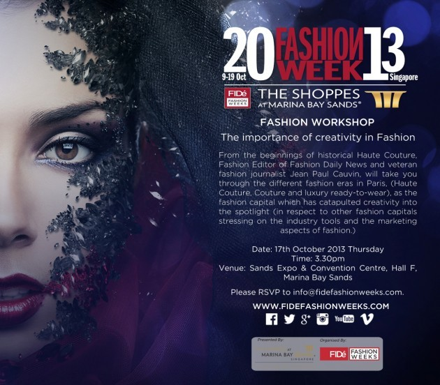 Catch the Fashion Week Wave in Singapore at Digital Fashion Week and FIDé Fashion Weeks