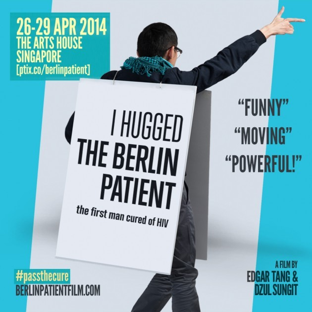 [Newsletter Exclusive] Win a pair of tickets to watch indie documentary, I Hugged the Berlin Patient