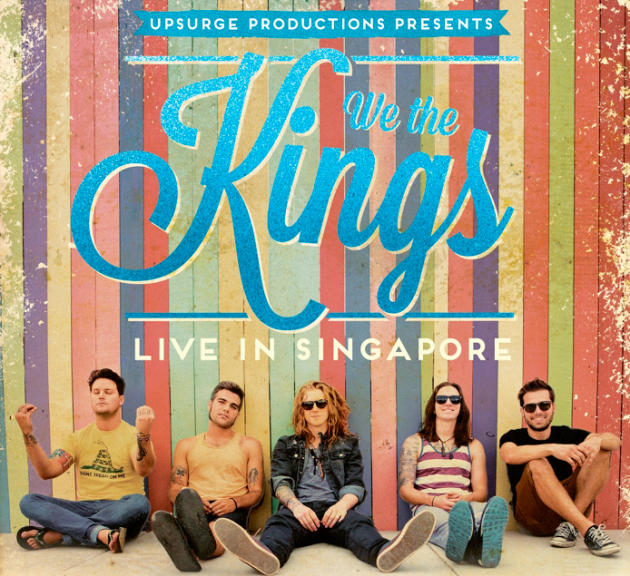 [GIVEAWAY] 2 pairs of tickets to rock out to We The Kings, pop-rock band hailing from Florida