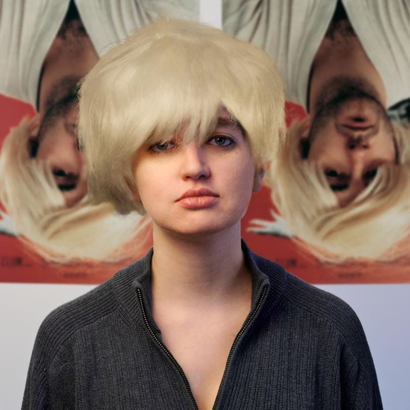 Rosalind Grush as Douglas Gordon as Kurt Cobain as Andy Warhol as Myra Hindley as Marilyn Monroe