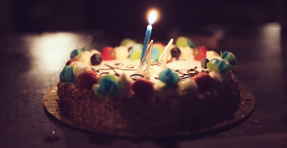 Birthday Cake from SplitShire